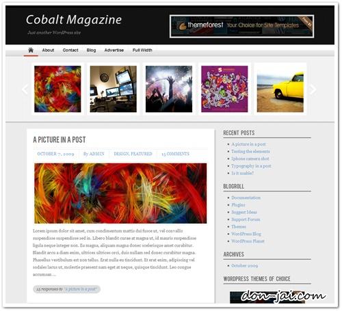 แนะนำเว็บ Theme WordPress โทนสีเทา ดูเรียบ หรู ระดับ Premium แบบฟรีๆค่า