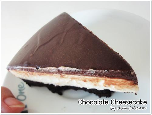 ของหวานโดนใจ >> Triple Chocolate Cheesecake : ชีสเค้กช็อกโกแลตสามชนิด สื่อแทนใจ