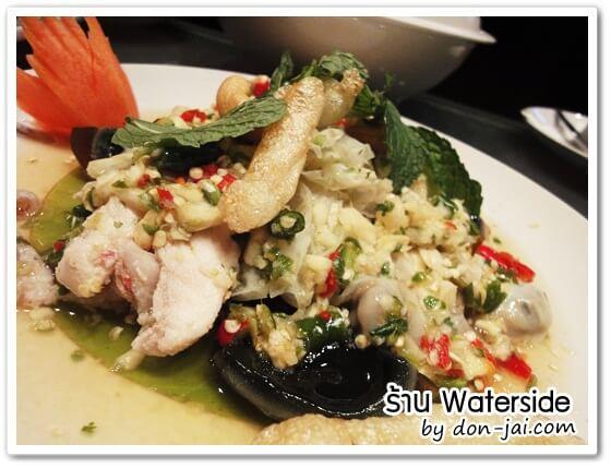 รีวิวโดนใจ >> Water Side (วอเตอร์ไซต์)  ร้านอาหารร่วมสมัยและห้องคาราโอเกะกลางน้ำ ย่านเกษตรนวมินทร์