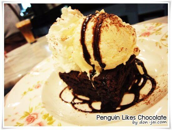 รีวิวโดนใจ >> Penguin Likes Chocolate (เพนกวินไลค์ช็อกโกแลต) ร้านสำหรับคนรักช็อกโกแลตที่ Rain Hill