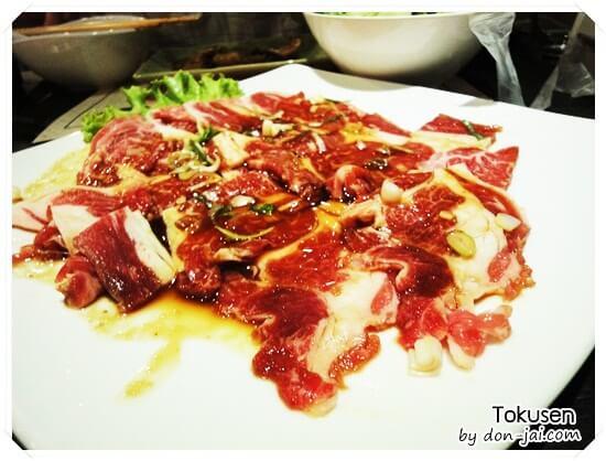 รีวิวโดนใจ >> Tokusen ร้านบุฟเฟ่ต์ปิ้งย่างและชาบู พร้อมด้วยสลัดบาร์ที่เซ็นทรัลบางนา