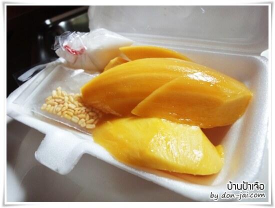 รีวิวโดนใจ >> ร้านข้าวเหนียวมะม่วงบ้านป้าเจือ สุดยอดของหวานแบบไทยๆ อร่อยโดนใจที่หัวหิน