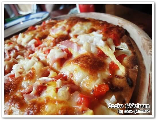 รีวิวโดนใจ >> Gecko ร้านอาหารสำหร้บมื้อแรกที่เวียดนามในเมืองฮานอย จ่ายเงินไปร่วม 100,000 (ดอง)
