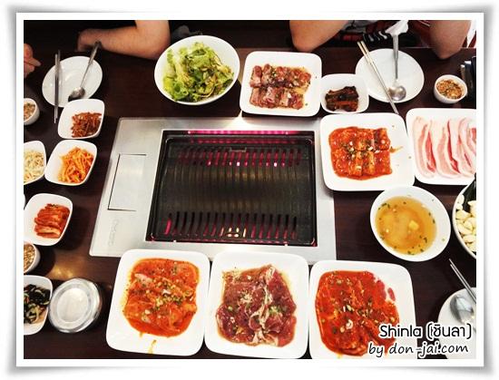 รีวิวโดนใจ >> Shinla (ชินลา) ร้านบุฟเฟ่ต์หมูย่างเกาหลี เนื้อนุ่ม เตาสุดเจ๋งที่ปิยรมย์สปอตคลับ ย่านสุขุมวิท