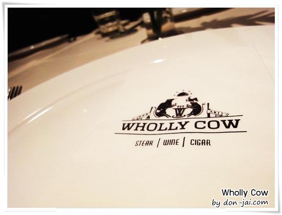 รีวิวโดนใจ >> Wholly Cow ร้าน Steak Wine Cigar ครบทุกอารมณ์ กลมกล่อมกันที่ซอยอารีย์