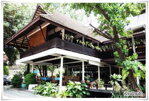 รีวิวโดนใจ >> ฝ้ายคำ ร้านอาหารไทย บรรยากาศร่มรื่น เหมาะสำหรับครอบครัว ติดถนนบางนา-ตราด