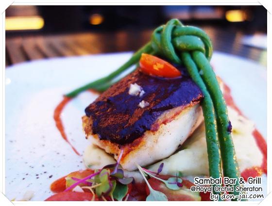 รีวิวโดนใจ >> Sambal Bar & Grill ห้องอาหารติดริมแม่น้ำเจ้าพระยาของโรงแรม Royal Orchid Sheraton