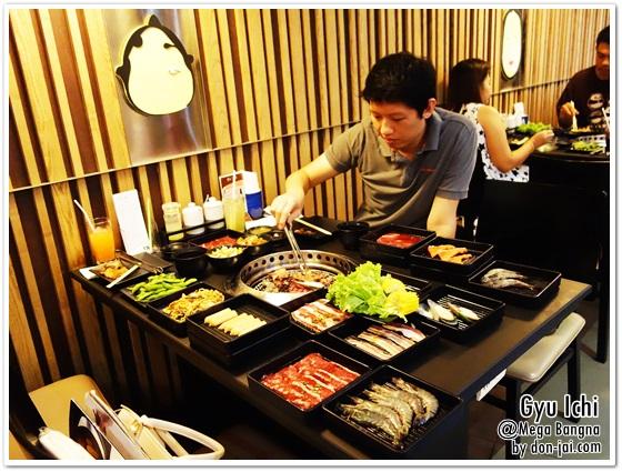 รีวิวโดนใจ >> Gyu Ichi Yakiniku (กิวอิจิ) ร้านบุฟเฟ่ต์เนื้อย่างที่ครบทั้งเนื้อ ของกินเล่น เครื่องดื่ม ที่ Mega Bangna