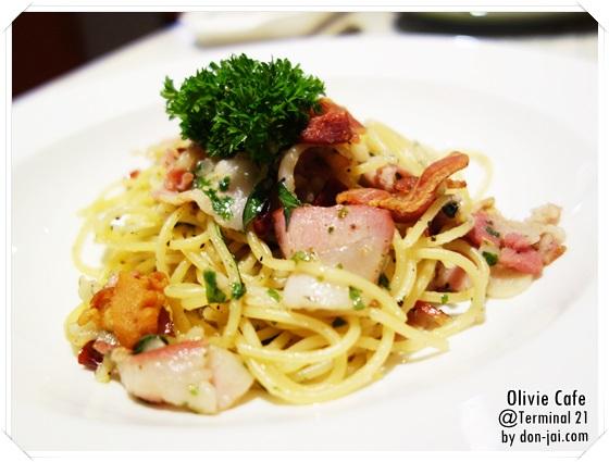 รีวิวโดนใจ >> Olivie Cafe (โอลิวิเย่ คาเฟ่) หลากเมนูอาหารอิตาเลี่ยนแสนอร่อยที่ Terminal 21
