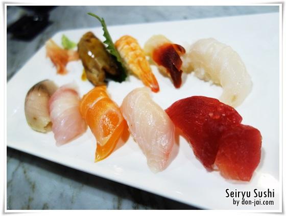 รีวิวโดนใจ >> Seiryu Sushi (เซริว ซูชิ) ร้านซูชิย่านสีลม ทานแล้วเฉยๆหมดเลย หรือเราจะเริ่มเรื่องมากเกินไป