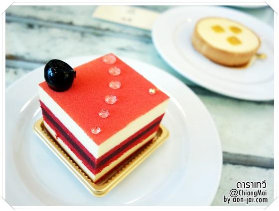 รีวิวโดนใจ >> ร้านเค้กสุดหรูกับบรรยากาศน่ารักในโรงแรมแมนดาริน โอเรียนเต็ล ดาราเทวี เชียงใหม่
