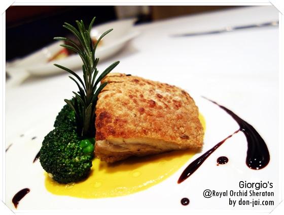 รีวิวโดนใจ >> อิตาเลี่ยนดินเนอร์บุฟเฟ่ต์สุดคุ้มที่ Giorgio's โรงแรม Royal Orchid Sheraton