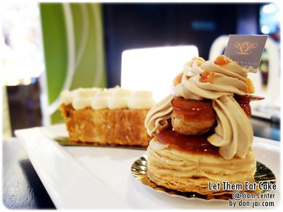 รีวิวโดนใจ >> Let Them Eat Cake พากินเค้กสุดเริ่ด รสชาติสุดหรู ราคาสุดแรง ที่สาขาSiam Center