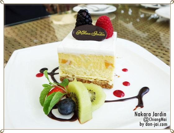 รีวิวโดนใจ >> Nakara Jardin (นครา จาร์แดง) เค้กแสนอร่อย บรรยากาศดี ติดริมแม่น้ำปิง เชียงใหม่