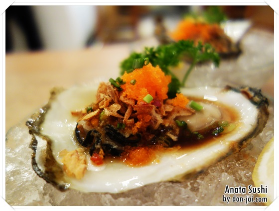 รีวิวโดนใจ >> Anata sushi (อนาตะ ซูชิ) ร้านซูิชิบาร์ ปลาสด รสชาติดี ราคาไม่แพง @ร่วมฤดี village