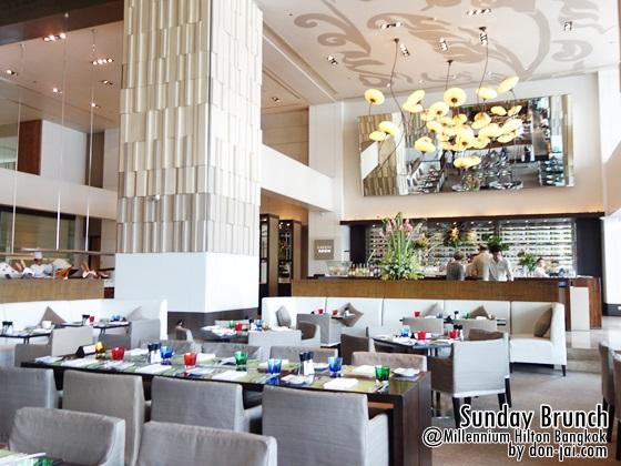 รีวิวโดนใจ >> Flow - Sunday Brunch หลากเมนูอร่อย @ Millennium Hilton Bangkok