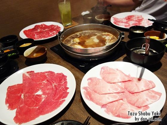 รีวิวโดนใจ >> Tazu Shabu Yaki (ทาซึชาบูยากิ) อร่อยได้ไม่อั้นกับบุฟเฟ่ต์ชาบู 399++ ที่ลาวิลล่า อารีย์
