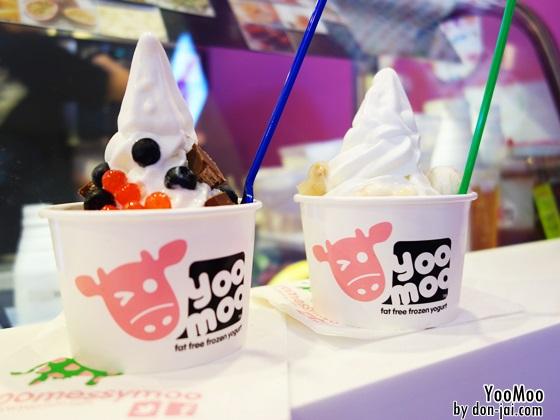 รีวิวโดนใจ >> YooMoo (ยูมู่) ไอศกรีมโยเกิร์ตแบรนด์ดังจากอังกฤษแห่งแรกในไทยและแห่งเดียวในเอเชีย
