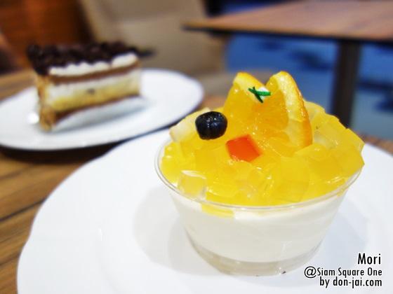 รีวิวโดนใจ >> Mori Dessert Bar (โมริ) ร้านเบเกอรี่สไตล์ญี่ปุ่น อร่อยลงตัวที่ Siam Square One