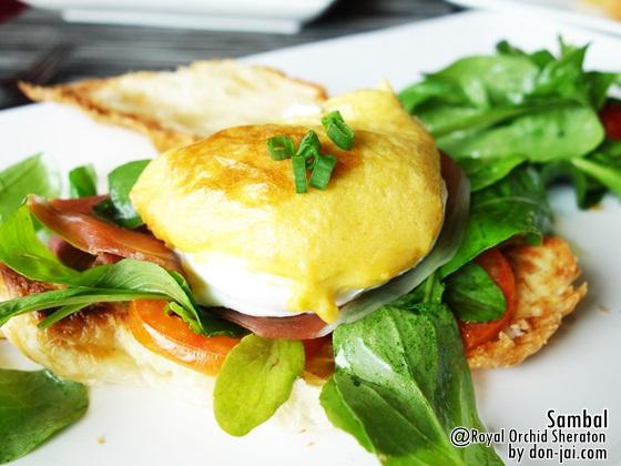 รีวิวโดนใจ >> ห้องอาหาร Sambal กับเมนูอาหารเช้าสุดเริ่ดอย่าง Egg Benedict