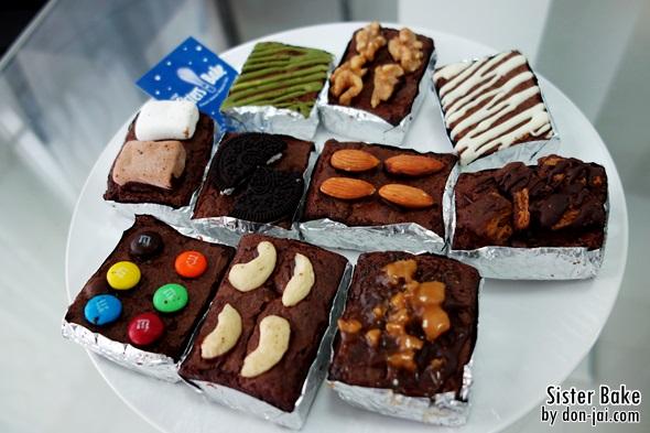 รีวิวโดนใจ >> Sister's Bake กับฟัดจ์บราวนี่ทำจากช็อคโกแลตแท้ อร่อยเข้มทุกรสสัมผัส