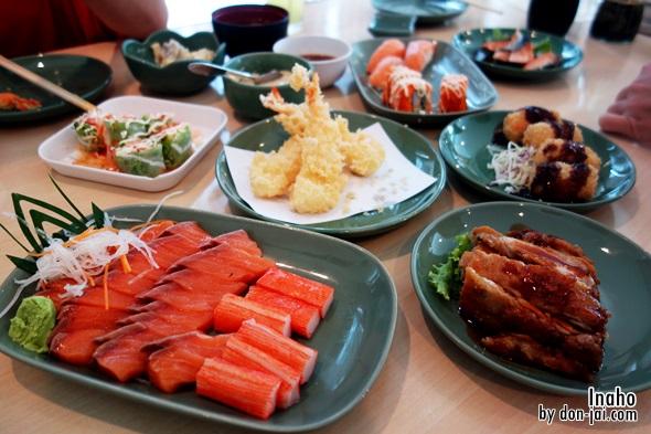 รีวิวโดนใจ >> Inaho (อินาโฮ) บุฟเฟ่ต์อาหารญี่ปุ่นแถวสีลมคนละ 390 บาท แค่พอกินได้แต่ยังไม่โดน