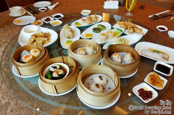 รีวิวโดนใจ >>Yu He  (หยูเห้อ) กับบุฟเฟ่ต์ติ่มซำ 650++ อิ่มอร่อยเต็มที่โรงแรม Grand FourWing