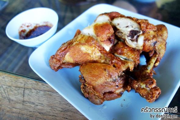 รีวิวโดนใจ >> ครัวกรรณิการ์ อาหารทุกอย่างทำจากไก่ อร่อยกันได้ ที่ตัวเมืองหัวหิน