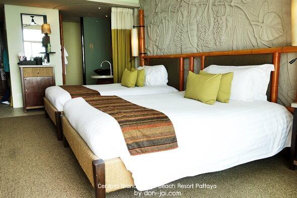 รีวิวโดนใจ >> Centara Grand Mirage Beach Resort Pattaya (ตอนที่ 2) : ห้องพัก และสวนน้ำ