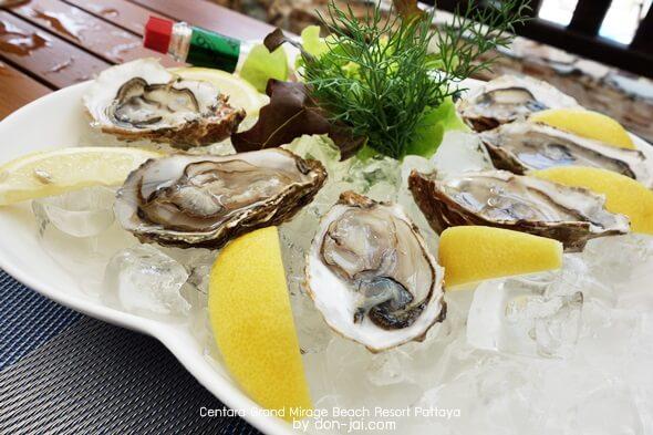 รีวิวโดนใจ >> Centara Grand Mirage Beach Resort Pattaya (ตอนที่ 5) : มื้อเที่ยงที่Oceans