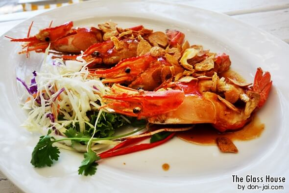 รีวิวโดนใจ >> The Glass House ร้านอาหารบรรยากาศดี นั่งชิลล์มองทะเลที่พัทยา
