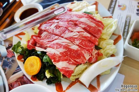 รีวิวโดนใจ >> Kagonoya (คาโกโนยะ) มากินชาบู-ชาบูหม้อไฟกระดาษสาขา Market Placeทองหล่อ