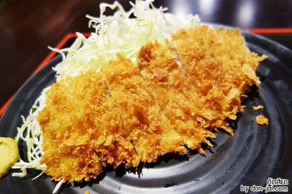 รีวิวโดนใจ >> Katsuya (คัตสึยะ) ร้านหมูทอดอร่อยแท้สไตล์ญี่ปุ่นที่เซ็นทรัลบางนา