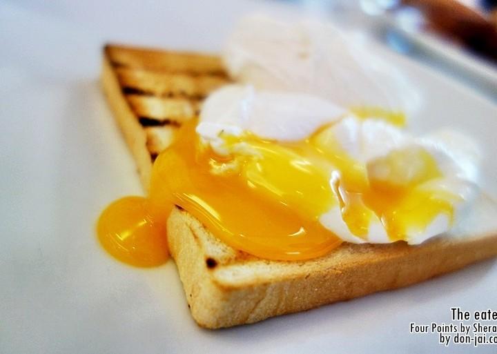 รีวิวโดนใจ >> The Eatery กับเมนูอาหารเช้าที่โรงแรมFour Points by Sheraton