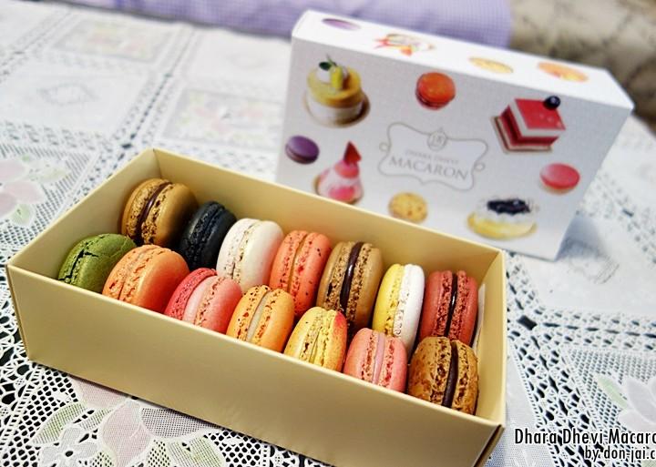 รีวิวโดนใจ >>DharaDhevi's Macaron ทานรสชาติใหม่ของมาการองจากดาราเทวีที่ สาขาEm Quartier