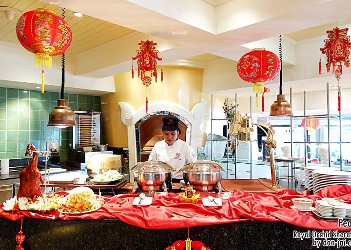 รีวิวโดนใจ >> บุฟเฟ่ต์อาหารจีนทุกเย็นวันพุธ ที่ห้องอาหาร Feast โรงแรม Royal Orchid Sheraton