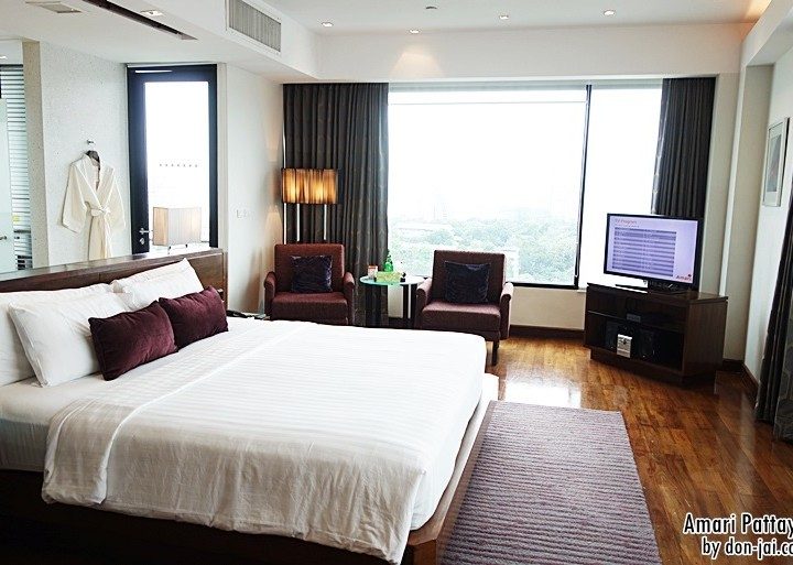 รีวิวโดนใจ >> Amari Pattaya (อมารี พัทยา) กับห้องพักสุดหรูแบบ Executive Club King