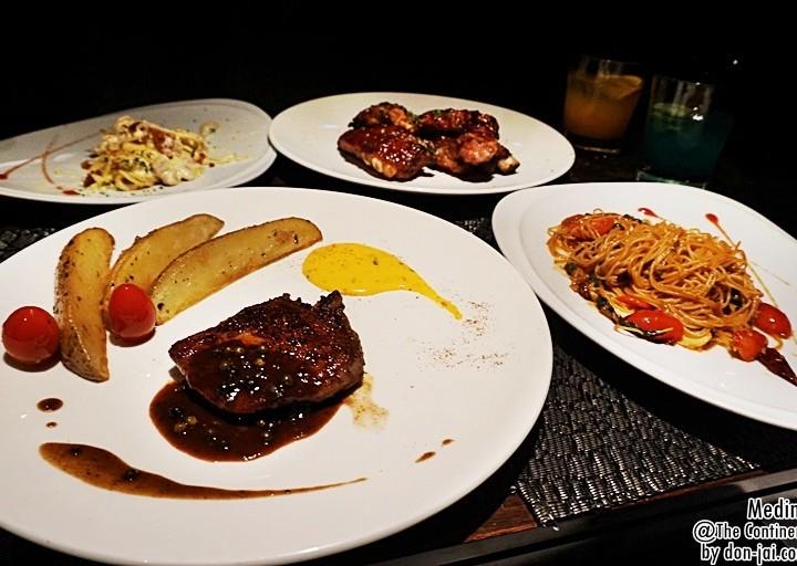 รีวิวโดนใจ >> Medinii อิ่มอร่อยกับอาหารอิตาเลี่ยนกันที่ The Continent Hotel