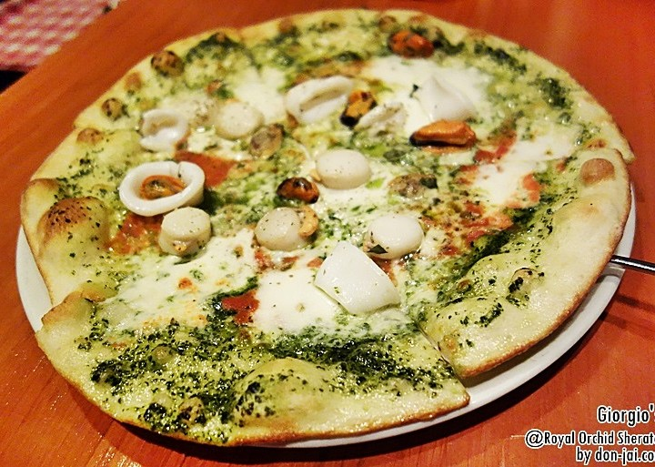 รีวิวโดนใจ >> Giorgio's กับโปรโมชั่น Create Your Own Pizza และสลัดในราคา 500 บาท