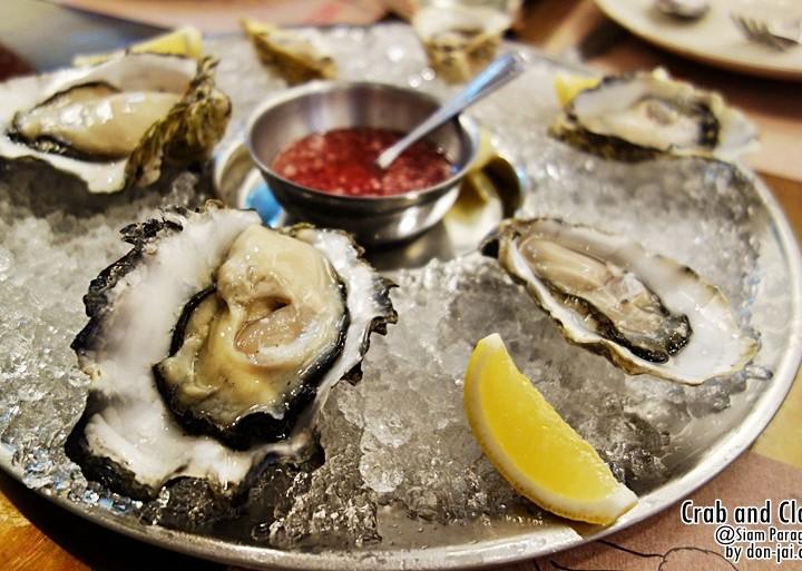 รีวิวโดนใจ >> Crab and Claw กับโปรโมชั่น All You Can Eat Oyster@Siam Paragon