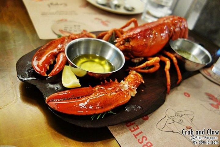รีวิวโดนใจ >> Crab and Claw กับโปรโมชั่น All You Can Eat Lobster @Siam Paragon