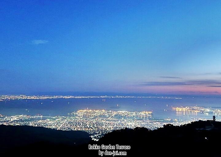 โดนใจไปญี่ปุ่น >>Rokko Garden Terrace - จุดชมวิวสุดเริ่ดบนเขารอคโคะ, โกเบ,ญี่ปุ่น