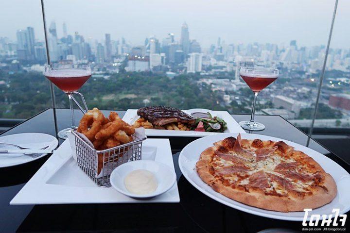 รีวิวโดนใจ >> HI-SO Rooftop Bar -จิบคอกเทล ชมวิวกรุงเทพมุมสูงกันที่ SO Sofitel Bangkok